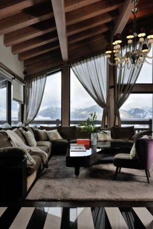 petit salon - Luxury Chalet par Jean-Marc et Anne-Sophie Mouchet - Courchevel, France