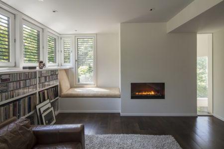 petit salon - Red Rock House par Anmahian Winton Architects - Red Rock, Usa