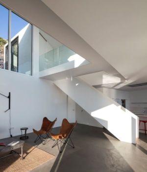 petit salon - Sunflower House par Cadaval & Solà-Morales - Gérone, Espagne