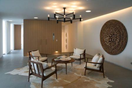 petit salon coin repos - luxury residence par Ezequiel Farca - Marina de Puerto Vallarta, Mexique
