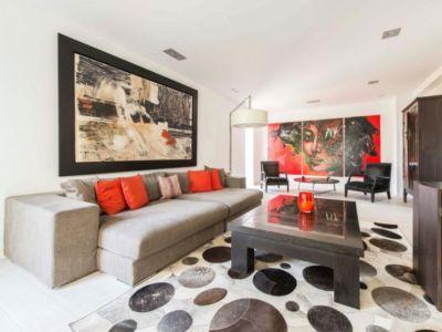 petit salon - magnifique propriété à vendre à Uccle en Belgique