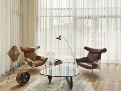 petit salon second étage - House of Piton par PANACOM Architect - Russie