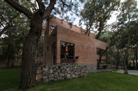 petite terrasse - Pinar house par MO+G Taller de arquitectura - Zapopan, Mexique