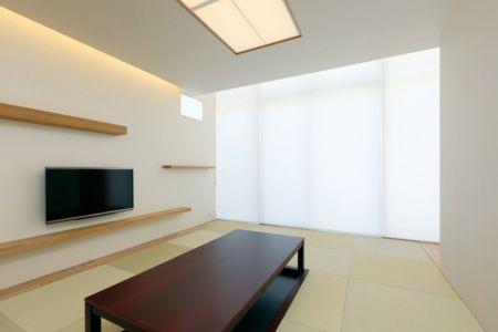 pièce coin TV - YAM par ks-architects - Nagoya, Japon