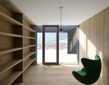 pièce coin repos - Structure-Slope par Bergmeister Wolf Architekten - Bozen, Italie
