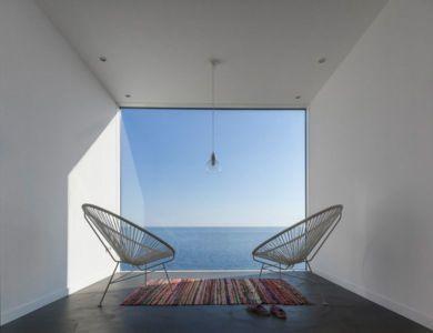 pièce cubique & vue sur mer - Sunflower House par Cadaval & Solà-Morales - Gérone, Espagne