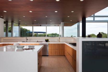 pièce cuisine - Vidalakis-Residence par Swatt Miers Architects - Californie, USA