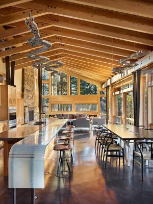 pièce de bie - Mazama House par FINNE Architects - Methow Valley, Usa