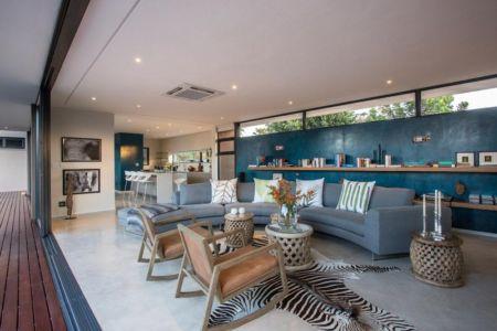 pièce de vie - Aloe Ridge House par Metropole Architects - Kwa Zulu Natal, Afrique du Sud