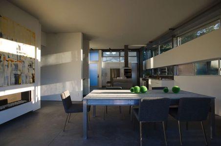 pièce de vie - Anthrazit House par Architects Magnus - Santa Barbara, Usa