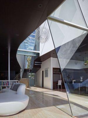 pièce de vie - Birch Residence par Griffin Enright Architects - Los Angeles, Usa
