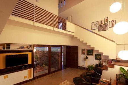pièce de vie - Casa do Arquiteto par Jirau Arquitetura - Pernambuco, Brésil