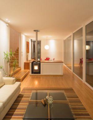 pièce de vie - GB-House par EMA Arquitectos - Concón, Chili