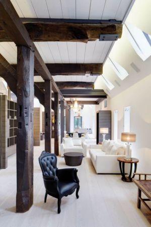 pièce de vie - German-Country-House par Reichel Architectes - Allemagne