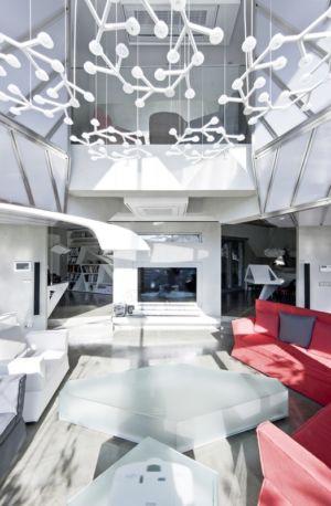 pièce de vie - HWA HUN par IROJE KHM Architects - Pyeongchang-dong, Corée du Sud