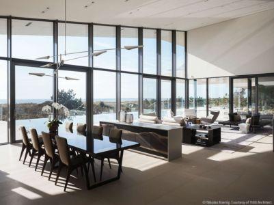 pièce de vie - Long Island House par 1100 Architect - NY, Usa