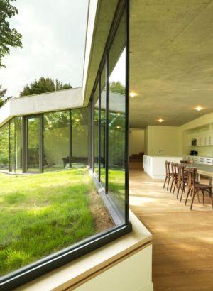 pièce de vie - Maison PLJ par Hertweck Devernois Architectes Urbanistes, France - photo Siméon Levaillant