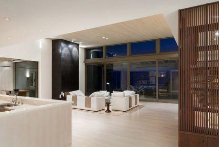 pièce de vie - Malibu House par Dutton Architects - Usa
