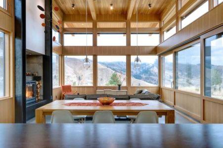 pièce de vie - Nahahum Canyon House par Balance Associates - Nahahum Canyon, Usa