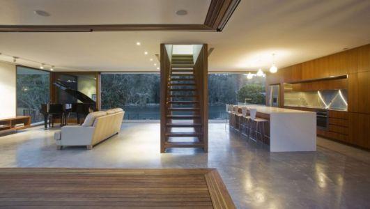pièce de vie - Narrabeen House par Chrofi - Narrabeen, Australie