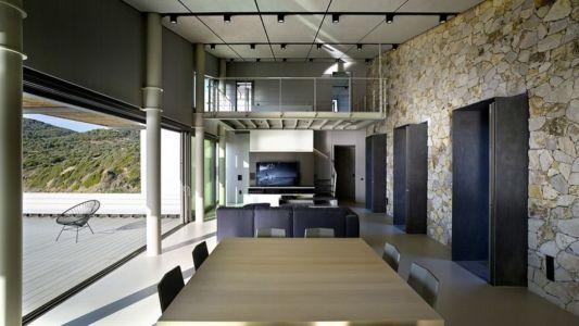 pièce de vie - Notre Ntam' Lesvos Residences par Z-level à Agios - Fokas, Grèce