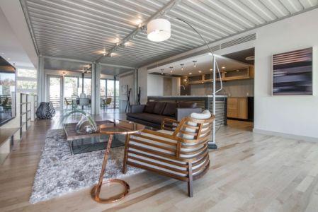 pièce de vie - PV14 House par M Gooden Design - Dallas, Usa