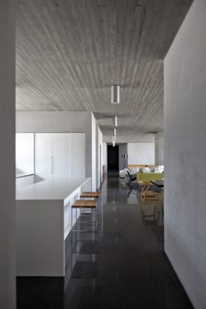 pièce de vie - Residenza Privata par Osa Architettura - Basilicata, Italie