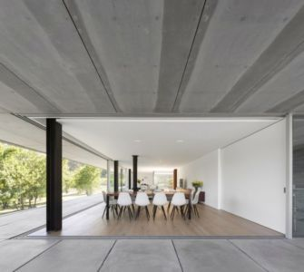 pièce de vie - Sambade House by spaceworkers - Penafiel, Portugal