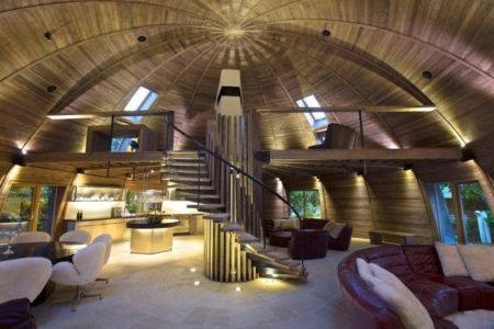 pièce de vie - The Dome Home par Timothy Oulton Design - Foshan, Chine