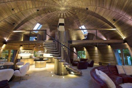 pièce de vie - The Dome Home par Timothy Oulton Design - Foshan, Chine