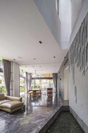 pièce de vie - Trevose-House par Ad-Lab - Singapour