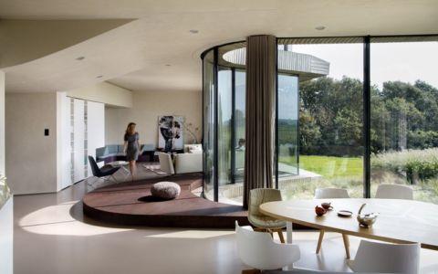 pièce de vie - W.I.N.D House par UNStudio - Pays-Bas