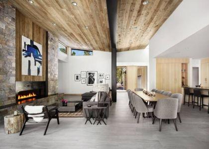 pièce de vie - butterfly-house par Sagemodern - Californie, USA