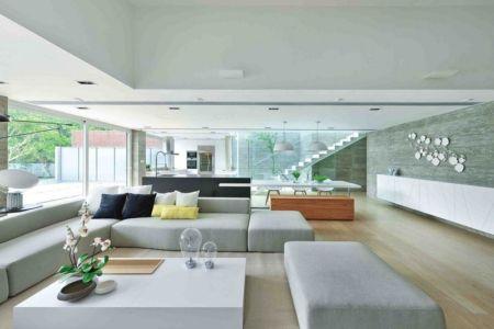pièce de vie - construction écologique par Millimeter Interior Design Limited - Hong Kong