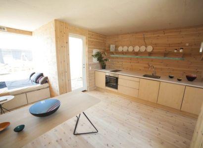 pièce de vie & couchette - Container-Home par Copenhagen Container Copenhague, Danemark