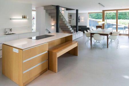 pièce de vie - despang par Despang Schlüpmann Architekten - Allemagne
