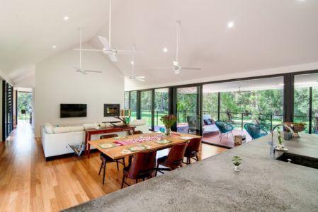 pièce de vie - house-built-zone par Robinson Architects - Pomona, Australie