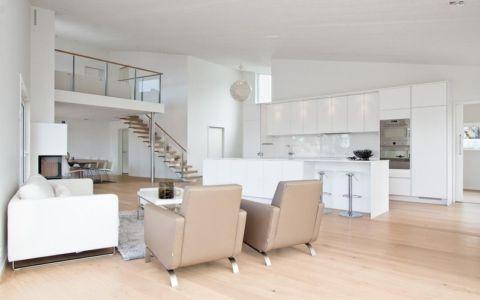 pièce de vie - villa Skipas par Tengbom - Halmstad, Suède