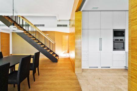 pièce de vue - Modern Family House par 4PLIUS Architects - Vilnius, Lituanie