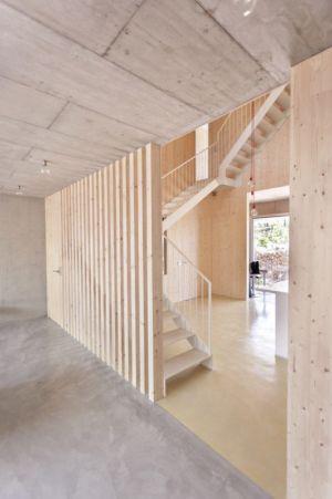 pièce en bois - g-house par Esau Acosta - El Sauzal, Espagne