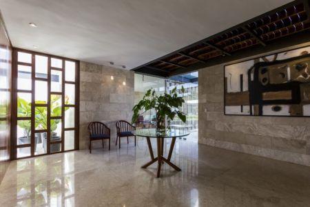 pièce en marbre - Montebello 321 par Jorge Bolio Arquitectura - Merida, Mexique