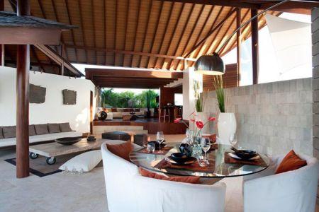 pièce grande salon - Villas-Spa par Layar Designer - Bali, Indonesie