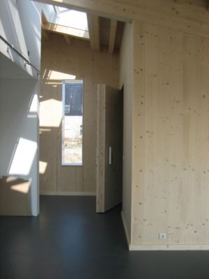 pièce intérieure entrée principale - Biobased-Living-Concept par DDacha - Pays-Bas