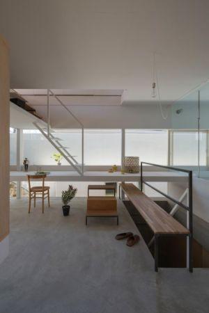 pièce loisirs - House-Toyonaka par Tato Architects - Toyonaka, Japon