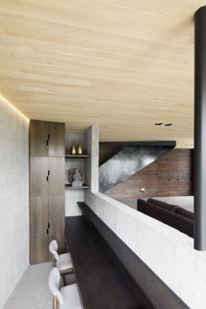 pièce mini séjour - La-Heronniere par Alain Carle Architecte - Québec, Canada