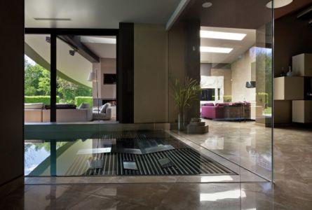 pièce piscine intérieure - House-Kharkiv par Sbm studio - Kharkiv, Ukraine