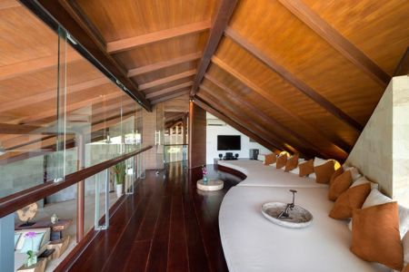 pièce coin repos étage - Villas-Spa par Layar Designer - Bali, Indonesie