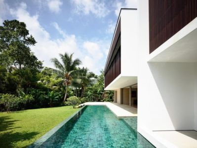 piscine - 59BTP House par ONG&ONG - Singapour