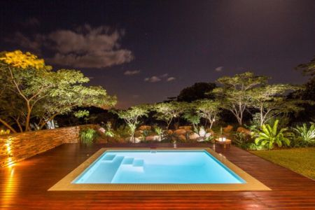 piscine - Aloe Ridge House par Metropole Architects - Kwa Zulu Natal, Afrique du Sud