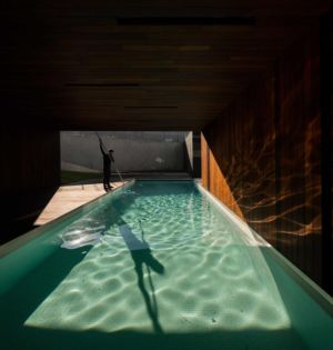 piscine - BE House par Spaceworkers - Paredes, Espagne